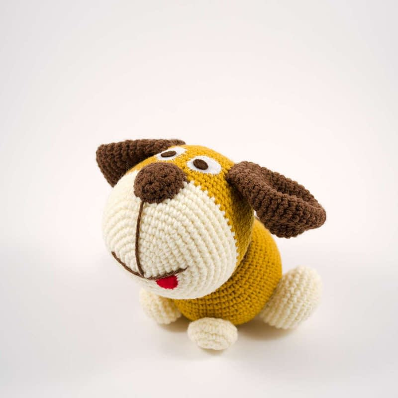 amigurumi puppy dog