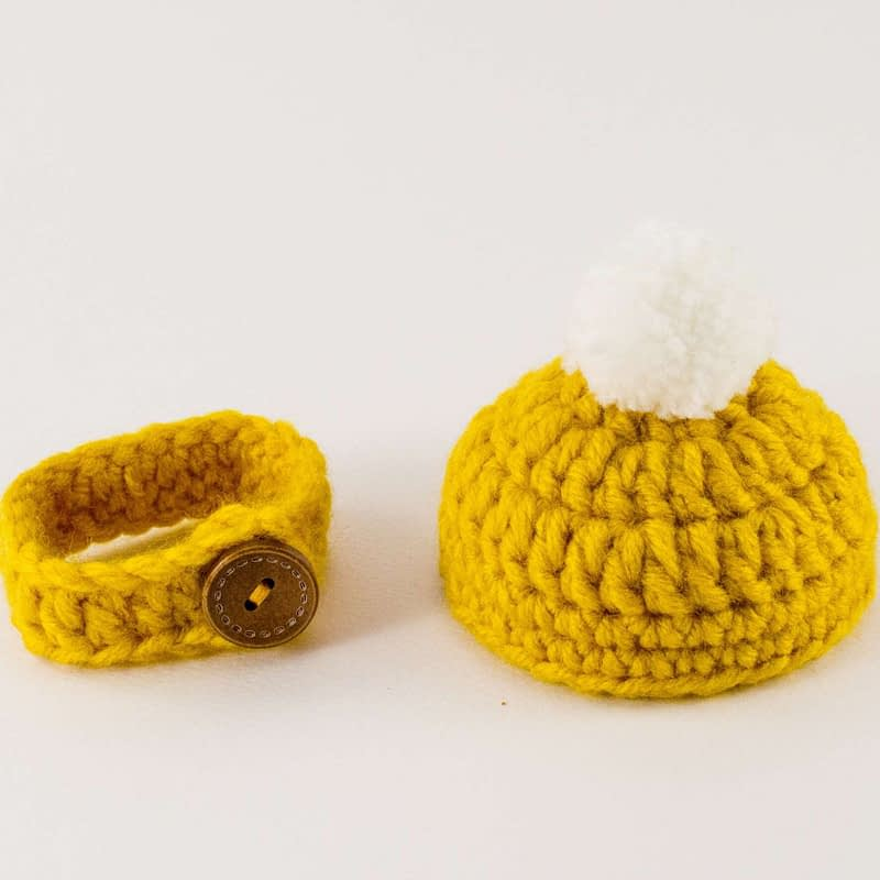 mini hat and scarf