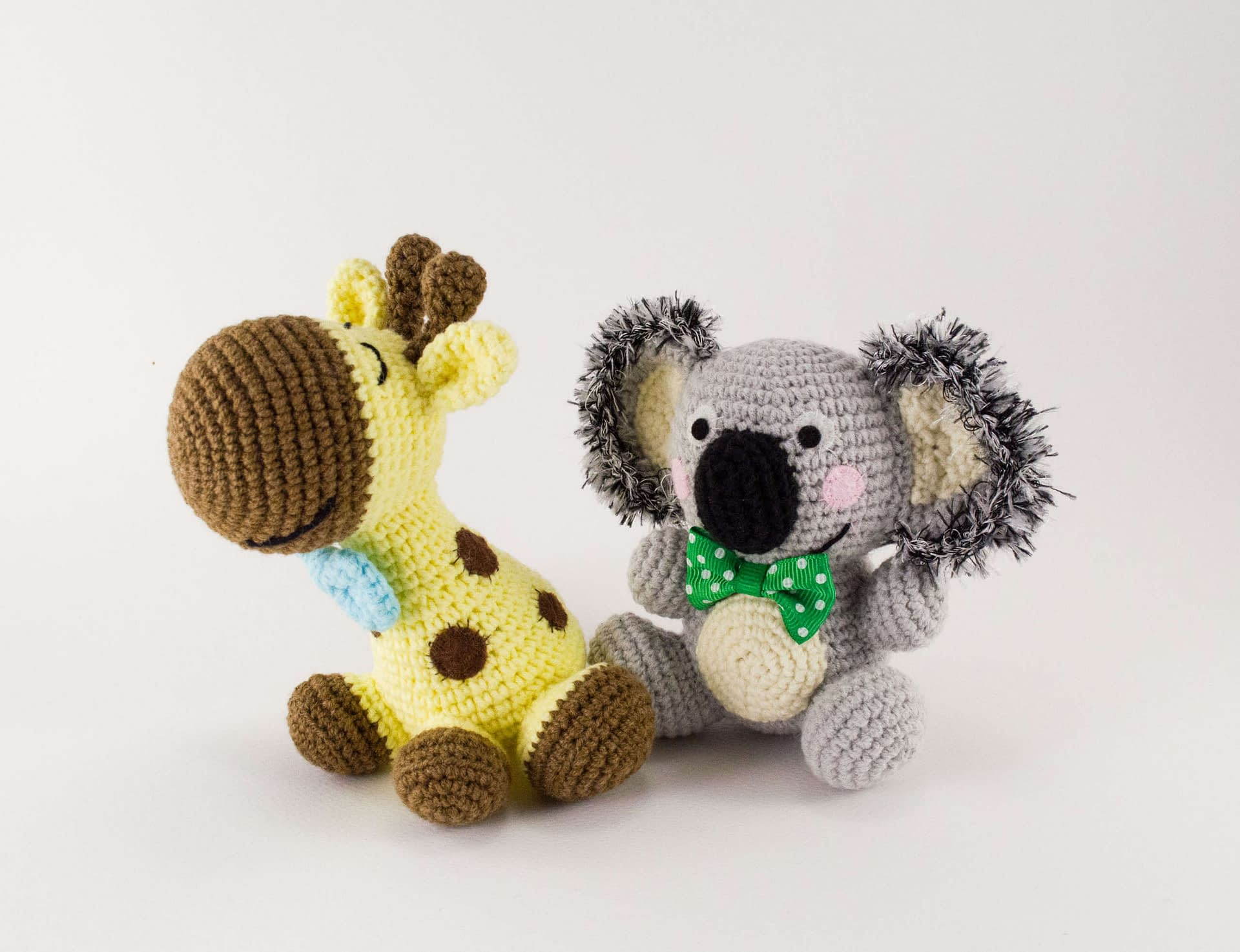 Amigurumi Koala Bear - A Free Crochet Pattern - Grace and Yarn | 1474x1920