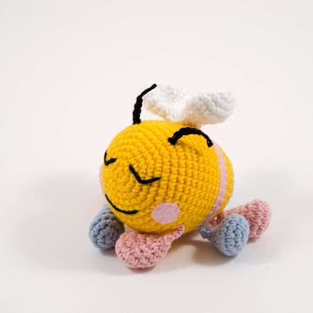 crochet bibi the bee toy