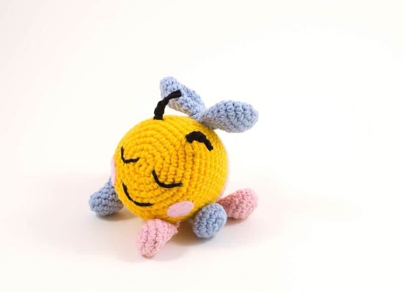 amigurumi bibi the bee