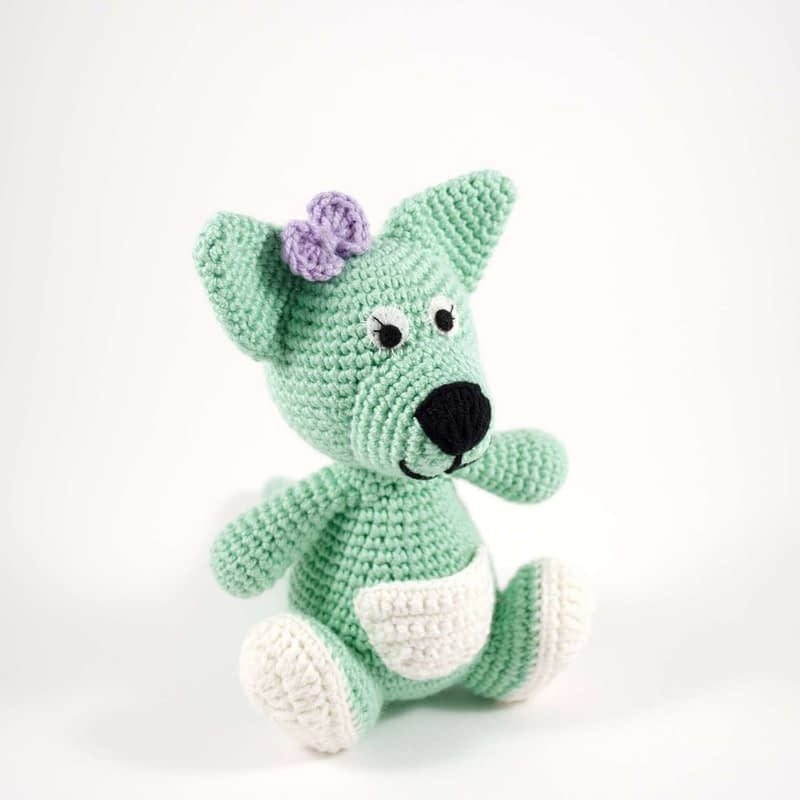 crochet chloe the kangaroo
